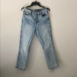 Old Navy The Perfect Straight Ankle Jeans